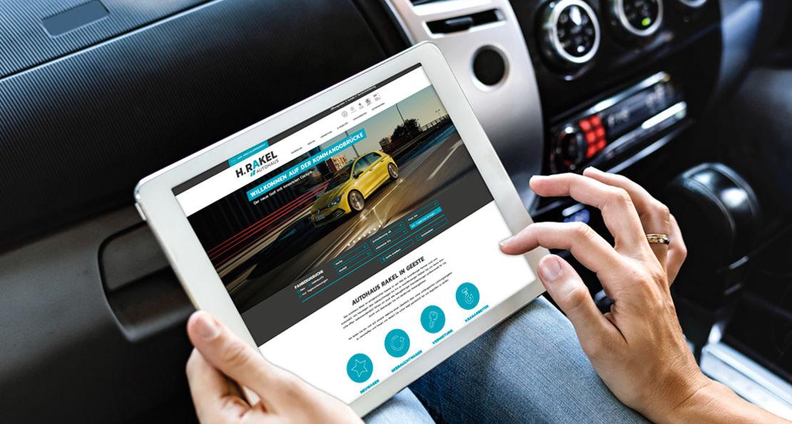 Responsive Website Autohaus Rakel