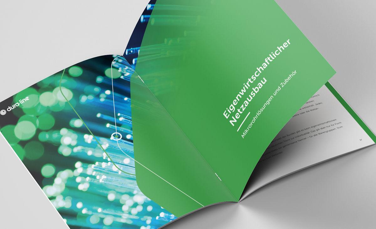 Eigenwirtschaftlicher Netzausbau im dura-line Katalog