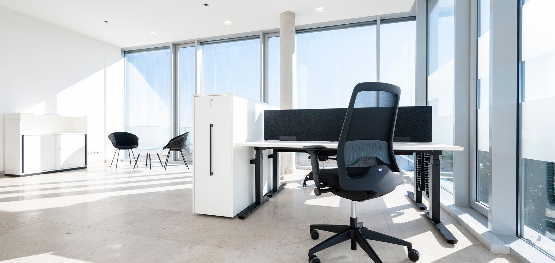 Sonnendurchflutetes Büro im Coworking Space Haren