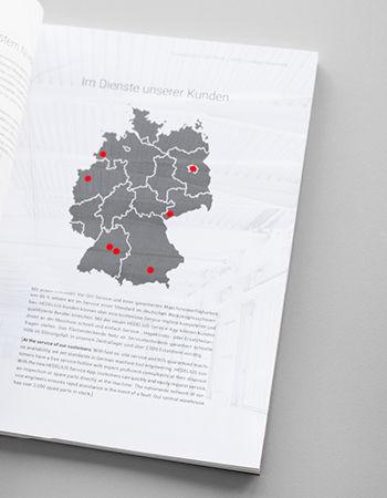 HEDELIUS-Standorte in Deutschland