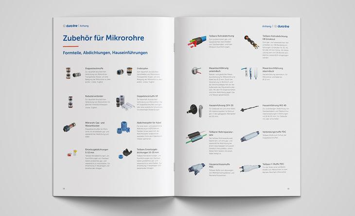 Zubehör für Mikrorohre im dura-line Katalog